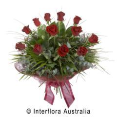 12 Rose Bouquet - Temptation