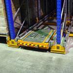 Rack entry module