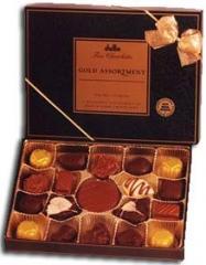 Black and Gold Assortment Box