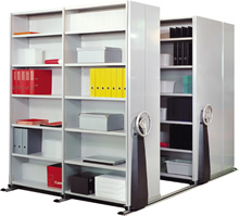 Compactus shelving systems