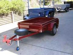 Heavy Duty or Industrial Box Trailer - 750kg GVM