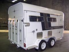 15' Three Horse Angle-Roadmaster Float