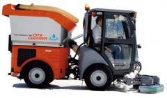 City Outdoor Scrubber Sweeper