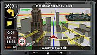 Clarion NX509A Multimedia Car GPS