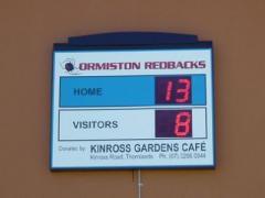LED digital scoreboards