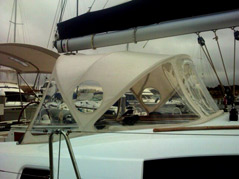 Spray Dodger - a Boat Canopy by Aussie Boat Covers
