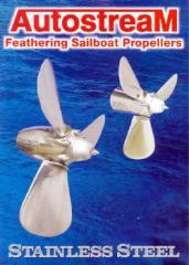 Autostream Feathering Sailboat Propellers