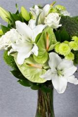 Bouquet - Whites And Greens