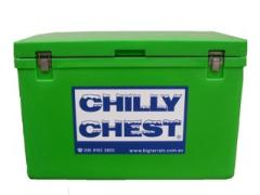 Ice Box Cooler Green: 100 Litre