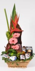 Gourmet & Flower Hampers