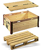 Flat Pack Pallet Collars