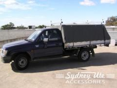 Single Cab Canvas Cover 1