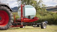 Trailed Turntable Bale Wrapper, Kverneland 7730