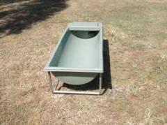Standard water troughs