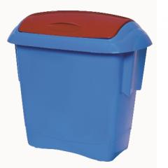 Kids Bins - Blue Bin with Red 13 Litre