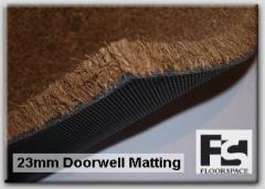 Door Well Matting 23mm Coir