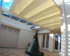 Pleated Awnings