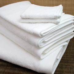 Baksana Bamboo Towels White