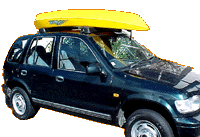 Removable Rubber Roofracks