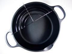 Cast Iron Deep Fryer for Tempura