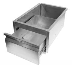 Stainless Steel Drawer Unit to suit 1/1 Gastronorm