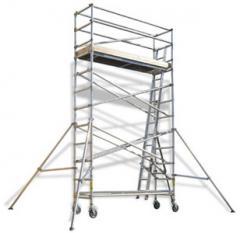 Aluminium Scaffold - Single Width Tower