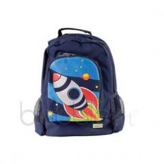 Large Canvas Backpacks Rocket