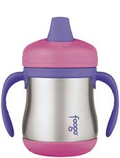 Foogo Stainless Steel Sippy Cup by Thermos