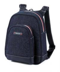 Denim Mini Back Pack - Navy
