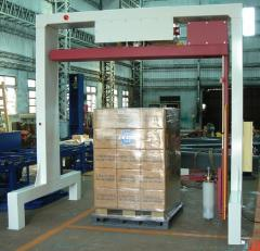 Rotary Arm Pallet Wrapper, NorthPack