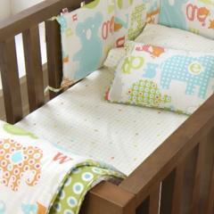 Little Chipipi Organic Cot Sheet Set Baby Animal