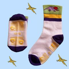 Mercerised cotton sock