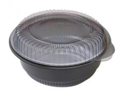 Black Polypropylene Bowl 16oz