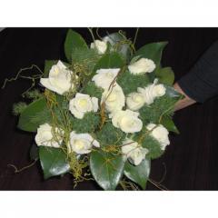 Рози бели