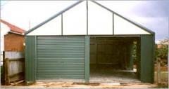 Heritage Pitch Garage