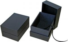 PortoBella deluxe 7x5 timber photo boxes, black