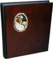 Grande Mahogany timber photo albums with