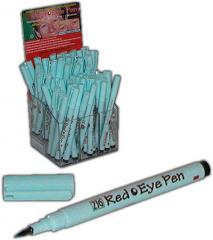 Zig red-eye correction pen, fine point, cyan ink