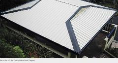 Dutch gable roof carpot