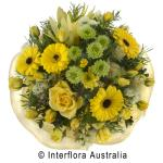 Stylish bouquet of lemons and limes