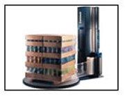 Semi Automatic Pallet Wrapper, Lantech Q300
