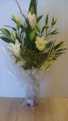 Oriental Lily Vase