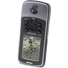 Handheld GPS with Marine Point Database