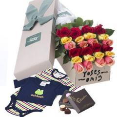 Roses & OshKosh Baby Boys Gift Box