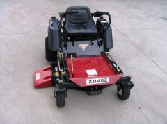 Zero Turn Ride on Mower, Parklander XD40Z