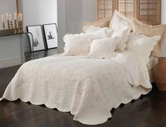 Chardae Embroidered Throwover Bedspread Set