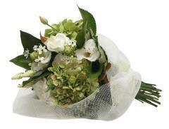 Classic White & Green Bouquet