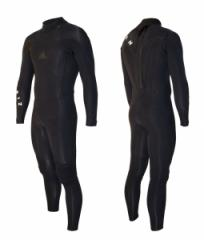 2011 Zion Trinity 4/3 Taped Steamer Black Wetsuits