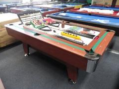 The Supreme 5 in 1 Pool Table 7 x 4 ft Pool,