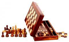 French Lardy Staunton Chess Set with 85mm King,